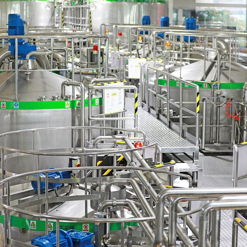 Filling Production Line of Dairy Enterprises